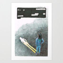 Eleven. Art Print