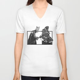 Papa Emeritus II and Nameless Ghouls Unisex V-Neck