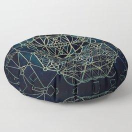 Quantum Conexion Floor Pillow