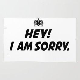 I Am Sorry Rug