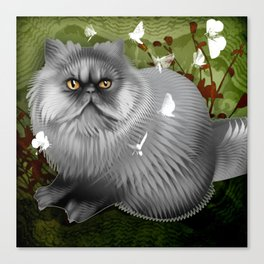 Arni Fuzzy Fuzzball  Canvas Print