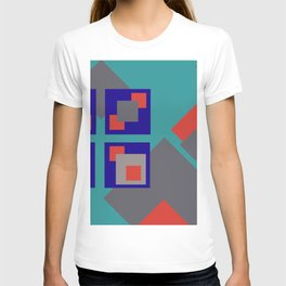 Grafik Rectangles II T-shirt