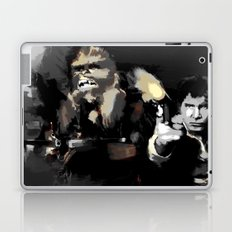 Han Solo & Chewbacca Laptop & iPad Skin
