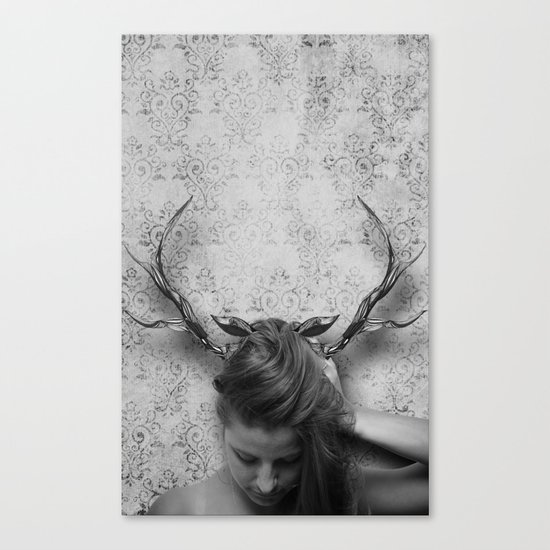 Oh Deer, Me Canvas Print