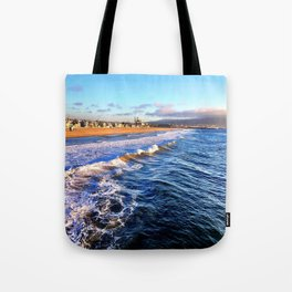 "Hermosa Beach ""On the Pier 2"" Tote Bag"