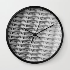 Pattern Sketch Wall Clock