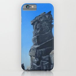 Germany, Harz Mountains, Devil`s Wall / Oil Painting iPhone Case