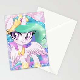 Little Princess Celestia Stationery Cards