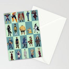 My Hero Academia 20 Heroes Stationery Cards