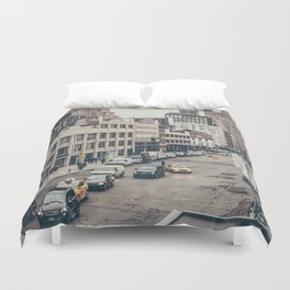 Tough Streets - NYC Duvet Cover