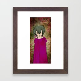 Sadness Framed Art Print