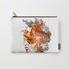 Fire- from World Elements Series Carry-All Pouch