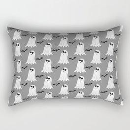 Halloween ghosts | Halloween Bats | Batcave Rectangular Pillow