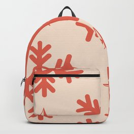 Snowflakes Pattern Winter Ornament Backpack