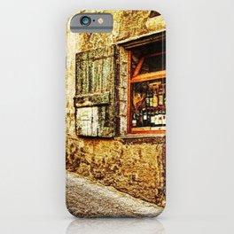Tuscany, Italy Street Scene iPhone Case