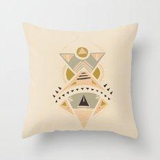 Pyramids 3 Throw Pillow