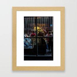 Jekyll & Hyde Club Window Framed Art Print