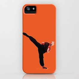 Kung Fu Steve 5 | Digital Art iPhone Case