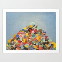 Rock Shrine Art Print
