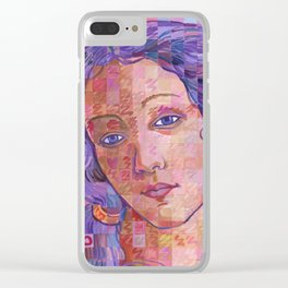 Variations On Botticelli's Venus – No. 2 Clear iPhone Case