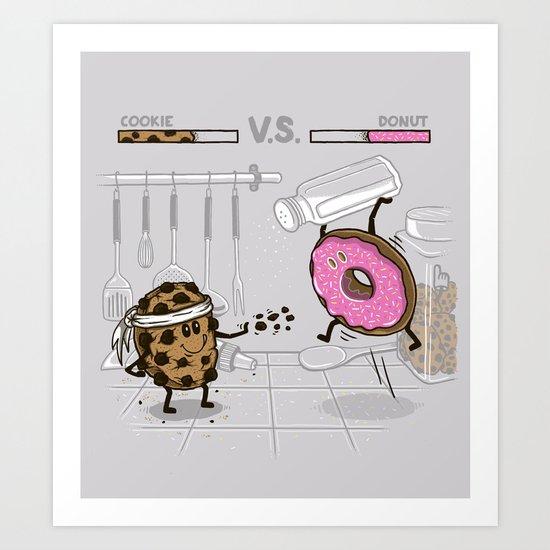 Duelicious Art Print