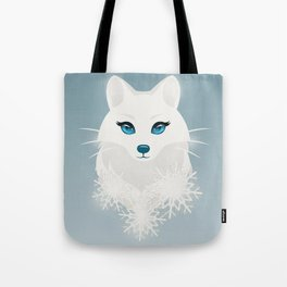 Arctic Fox Princess Tote Bag