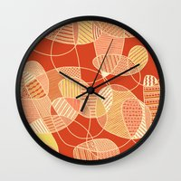 tangled Wall Clocks featuring Tangled by Anita Ivancenko