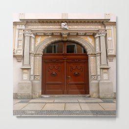 Rich Decorated Entrance Metal Print