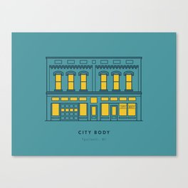 City Body Canvas Print