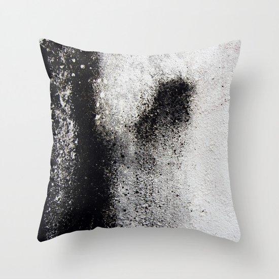 Negro sobre Blanco Throw Pillow