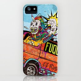 Opium Eater iPhone Case