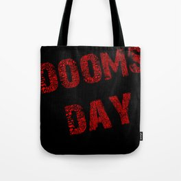 Dooms day red  Tote Bag