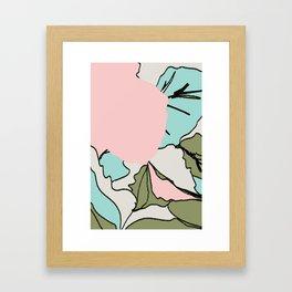 Back Soon (Olive Drab) Framed Art Print