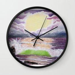 Wave Wall Clock