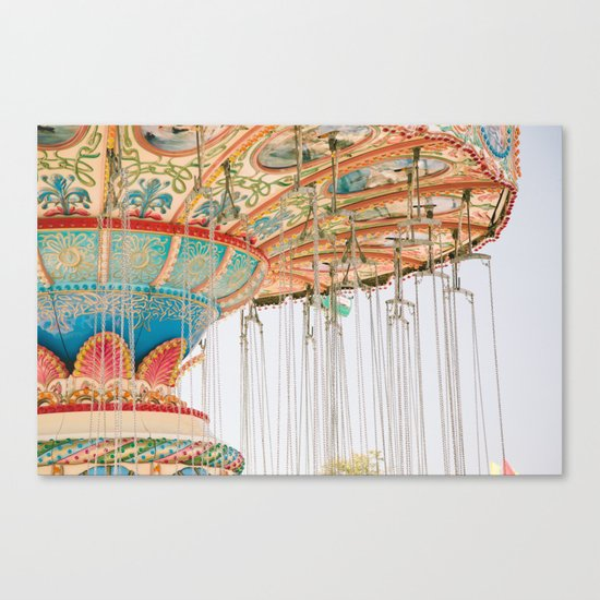 Swing ride Canvas Print