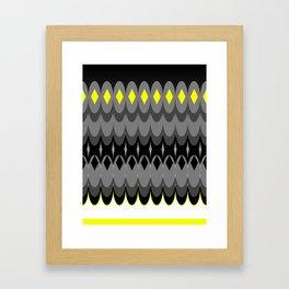 Hombre Ovals Framed Art Print