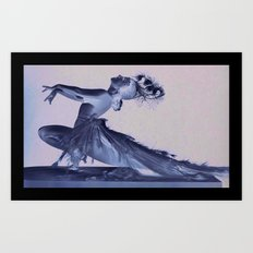 Sally Rand Art Print