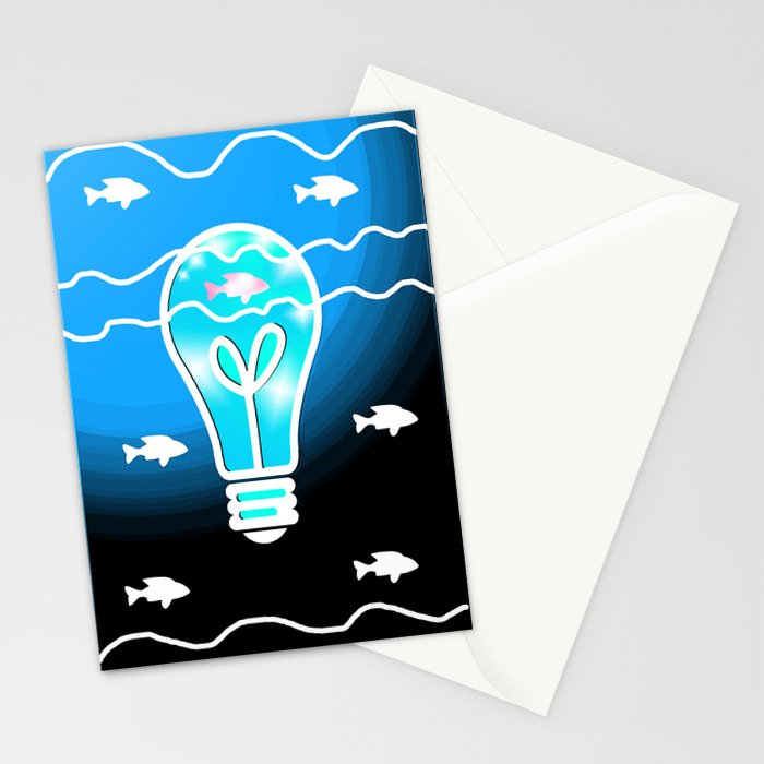 Shine the Way Stationery Cards