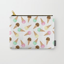 Ice Cream Pattern Carry-All Pouch
