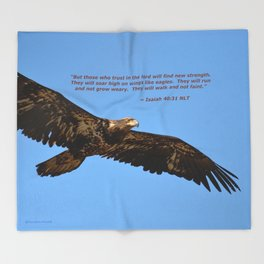 Soaring High!  -  Immature Throw Blanket
