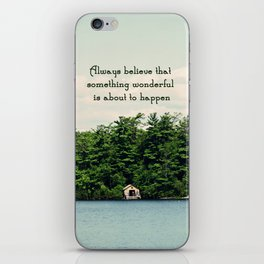 Something Wonderful iPhone Skin