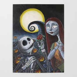 Spooky Romance Poster