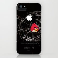 Angry Birds Breaking Glass Slim Case iPhone (5, 5s)
