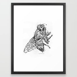 Depending On Size Of Man Framed Art Print