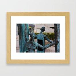 La Familia by Eduardo Oropeza III Framed Art Print