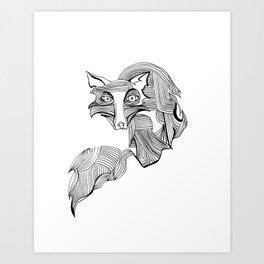 Reynard Fox Art Print