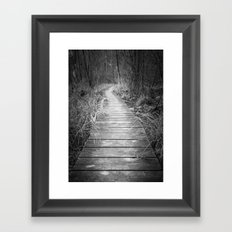 Marsh Boardwalk Framed Art Print