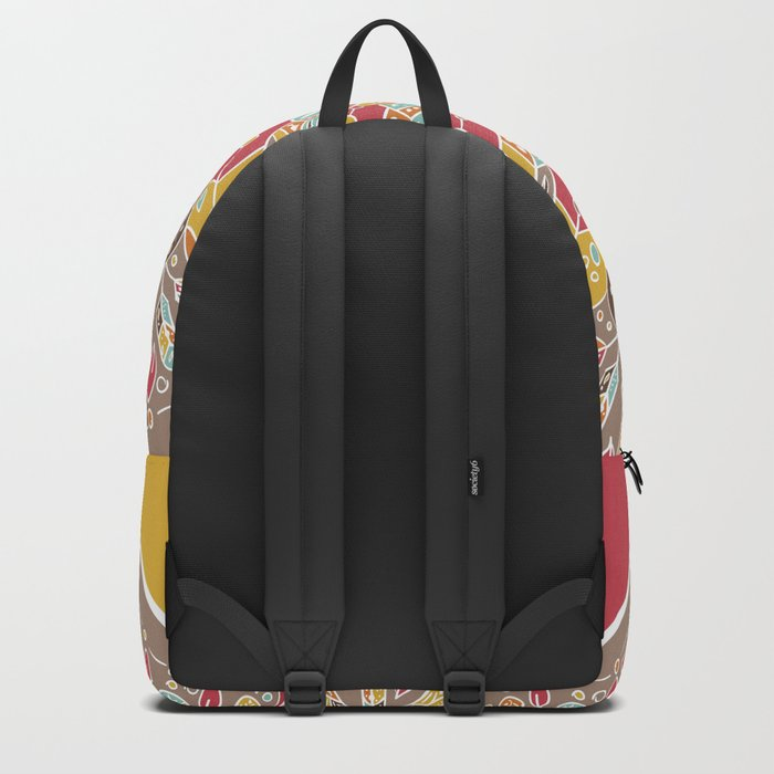 Mandala Boho Style Backpack