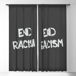 End racism Blackout Curtain