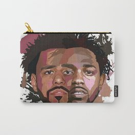 Kendrick Lamar J cole Portrait Carry-All Pouch